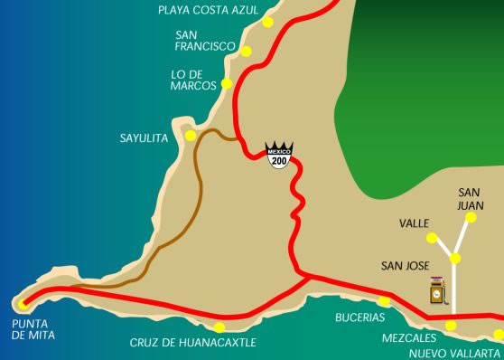 Local Maps Chacala Nayarit Playa Chacala Official Site